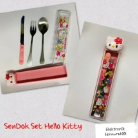 CRAZY SALE 99 Sendok Set Stainless Hello Kitty Kode SDKHK004 / Cutlery