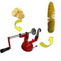 Pembuat Kentang Spiral Pengupas Kentang Potato Chipper Potatoes Slicer