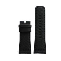 Tali / strap jam tangan SEVENFRIDAY P3/01 bahan kulit warna hitam XS