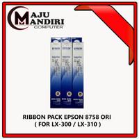 RIBBON PACK REFILL ASLI PRINTER EPSON 8750 8755 # 8758 LX 300 310 1170