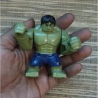 Green Hulk Avengers Endgame Super Hero Marvel Big Minifigure Not Lego