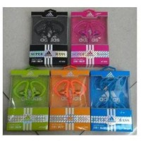Headset Handsfree Zipper ADIDAS / NIKE AT-009 Warna Earphone Handset .