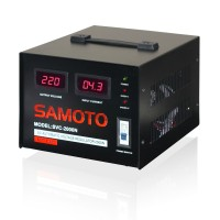 Digital Stabilizer/stavolt/stabiliser listrik Samoto 2000N singlephase