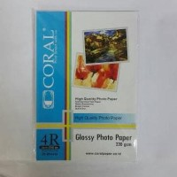 HOT SALE Glossy Photo Paper 4R 230 Gsm Coral