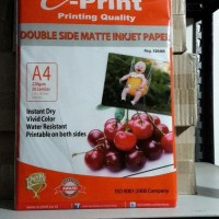 HOT SALE Eprint Photo Paper Double Side Matte Inkjet Paper A4 220gsm