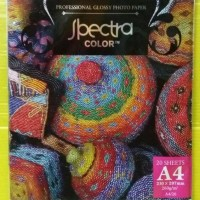 HOT SALE Spectra Glossy Photo Paper A4-260 Gr (Pack=20 Sheet)