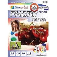 HOT SALE Blueprint Glossy Photo Paper A4-120 Gr (Pack = 50 Sheets)