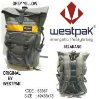 Tas sekolah ransel backpack pria westpak 63367 murah baru