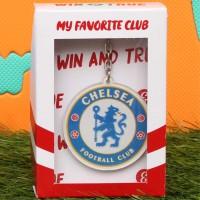 Gantungan Kunci Sepak Bola Logo Chelsea