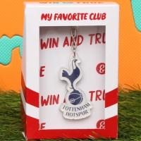 Gantungan Kunci Sepak Bola Logo Tottenham