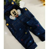 Overall jeans anak Mickey 501