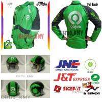 Jaket Gojek Motor Garuda Super + Helm Gojek Terbaru Paket Hemat Boss
