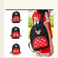 Fashion Anak / Tas Anak / Tas Backpack Anak - Mickey Minnie