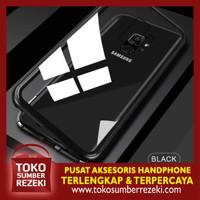 Aluminium Case Magnetic 2 in 1 Samsung A6 Plus
