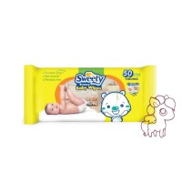 Sweety Baby Wipes 50 Sheets Perfumed