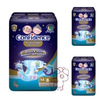 Confidence Adult Diapers Premium M8 L7 XL6