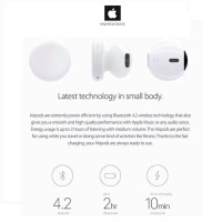 Original Headset Bluetooth Apple Airpod or Airpods For IPhone 7 and 7