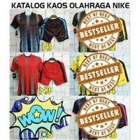 Kaos Futsal Nike Pilihan Warna /Olahraga/Jersey/SepakBolaVolly