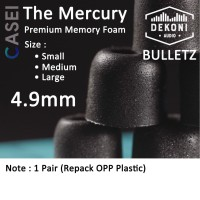 Dekoni Audio Bulletz THE MERCURY Premium Memory Foam Earphone Tips