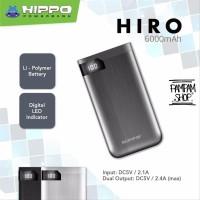 Hippo Power Bank Hiro 6000MAH Powerbank 6000 mAh Original Ori Garansi