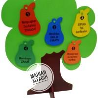 Mainan Edukasi Anak- Pohon Rukun Islam