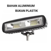 Lampu LED Cree Light Bar Sorot Tembak Slim 20 Mata Motor Mobil 6 Inci
