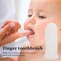 Sikat Gigi Bayi / Sikat Gigi Lidah Jari / Baby Finger Tooth Brush Soft