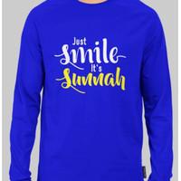 Kaos Dakwah AMP171P Smile Sunnah