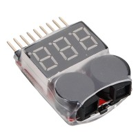 TOP.!! 1S-8S Battery Voltage Meter Tester Lipo Battery Monitor