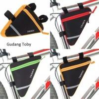 Tas Gantung Sepeda Segi Tiga /Frame Body Bag Bike/