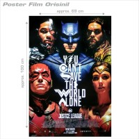 Poster Film Justice League - Original Indonesian One S Unmatched