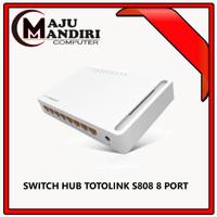 TOTOLINK S808 - 8 Port 10/100Mbps Desktop Switch