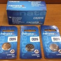 Baterai Renata CR2016 Original Lithium Battery 3V - CR 2016