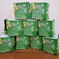 Pembalut Herbal Avail Pantyliner (Hijau) Pembalut Avail Hijau