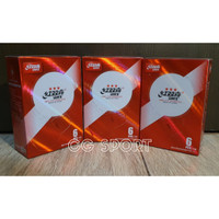 Bola Pingpong DHS 3* World Tour Cup Edition isi 6 D40+