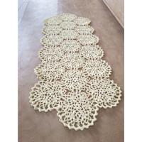 Taplak Meja Rajut Rajutan - Liq's Craft - PersegiTM007 - Asli Handmade