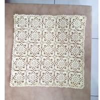 Doily Taplak Meja Rajut Rajutan - Liq's Craft -Persegi TM009- Handmade