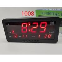 Jam Digital Dinding Meja 1008 Merah