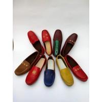 Sepatu Kerja Wanita Flat Shoes- Sepatu Wanita Slip On Reed