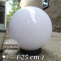 Lampu Taman Pilar Pagar Outdoor Bulat To 1 Meval 25 cm