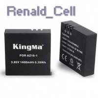 Kingma Baterai Xiaomi Yi 2 4K 1400mAh AZ16 1 Black