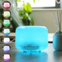 Taffware Humidifier Diffuser Essential Oil 7 LED Remote Control