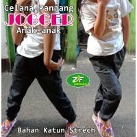 Celana Anak Perempuan / Cewek ( Model Jogger ) Bahan Katun Strech 01