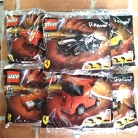 Lego Polybag Ferrari Shell Series 1 Set of 6 pcs Special Editions