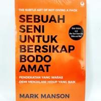 Buku Sebuah Seni Untuk Bersikap Bodo Amat - Mark Manson -