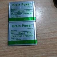 Baterai Batre Batere Advan S4D Double Power Brain Power Original