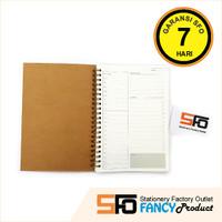 Buku Daily Planner A5