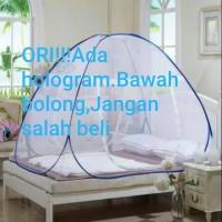 KL99 Kelambu Tempat tidur ukuran 180x200cm/Kelambu butterfly