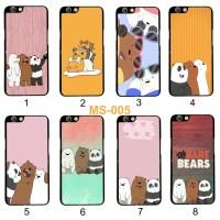 [MS-005] Case We Bare Bears Lucu For Oppo F1s F3 F9 F1 Vivo Y91 Y81 V5