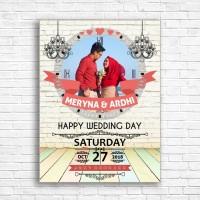 kado jam meja - dinding kado wedding pajangan foto hadiah pernikahan
